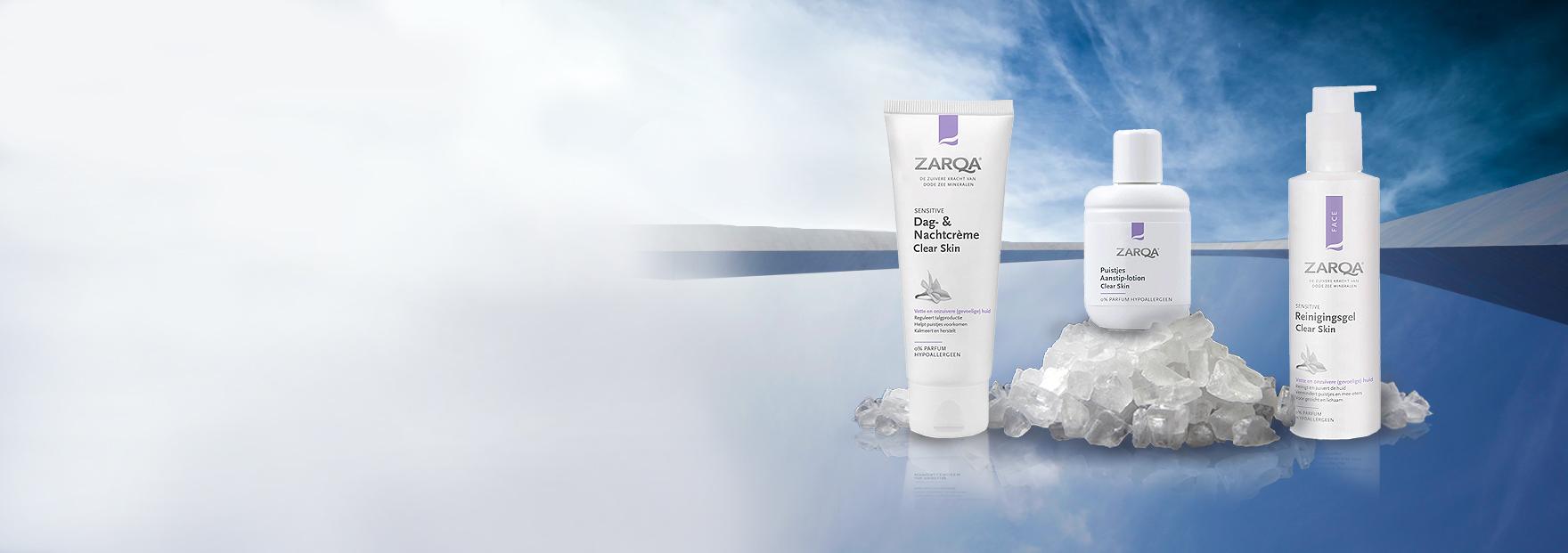 -20% ZARQA Clear Skin natūraliai švariai odai