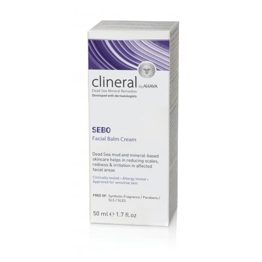 CLINERAL SEBO VEIDO KREMAS, 50 ML