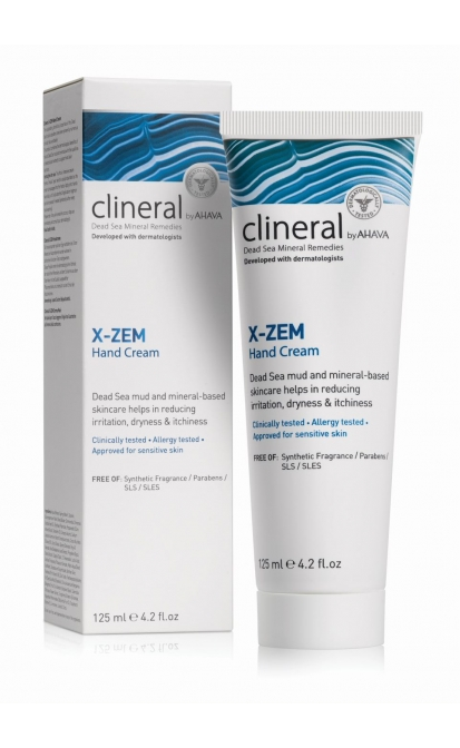AHAVA CLINERAL X-ZEM RANKŲ KREMAS, 125 ML