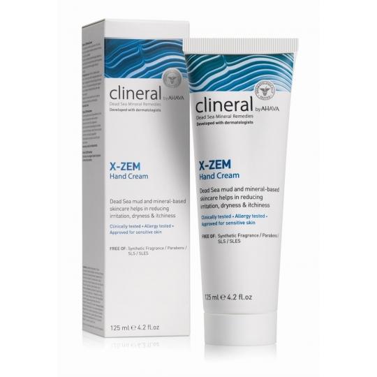CLINERAL X-ZEM RANKŲ KREMAS, 125 ML
