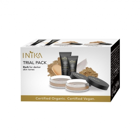 INIKA Trial Pack Dark Tones