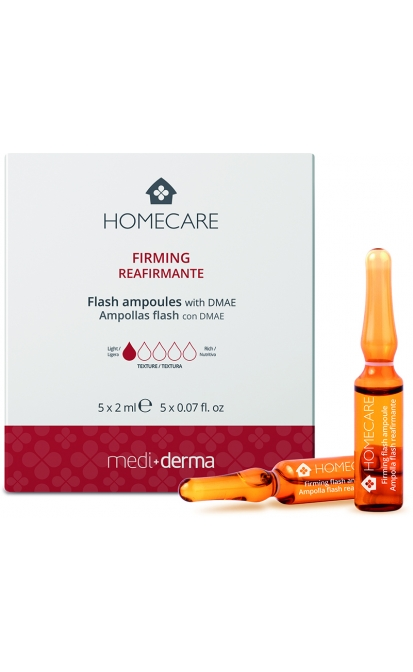 MEDIDERMA HOMECARE FIRMING AMPOULES, 5X2ML