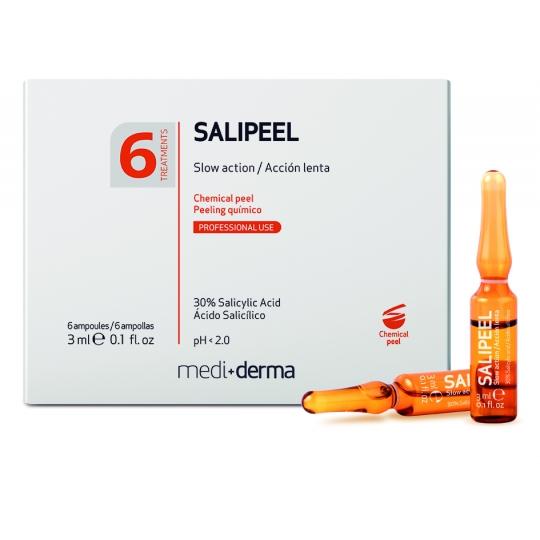 SALIPEEL SALICILO RŪGŠTIES AMPULĖS, 6X3ML