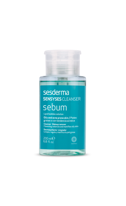 SESDERMA SENSYSES SEBUM LIPOSOMINIS VALIKLIS, 200 ml