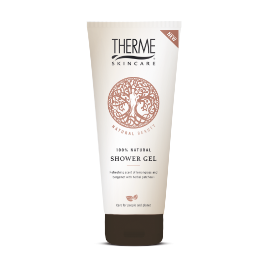 THERME NATURAL BEAUTY 100% NATŪRALI DUŠO ŽELĖ, 200ML