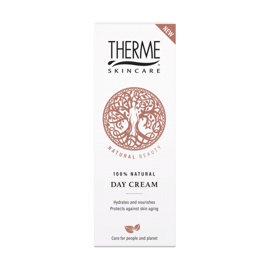 THERME NATURAL BEAUTY 100% NATŪRALUS DIENINIS KREMAS, 50ML