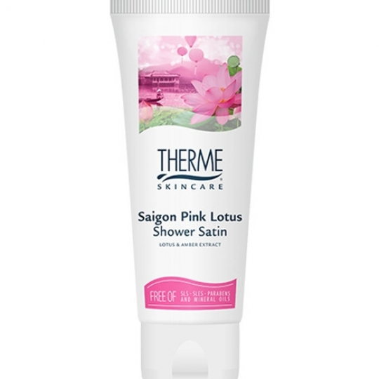 THERME SAIGON PINK LOTUS DUŠO PRAUSIKLIS, 200 ml