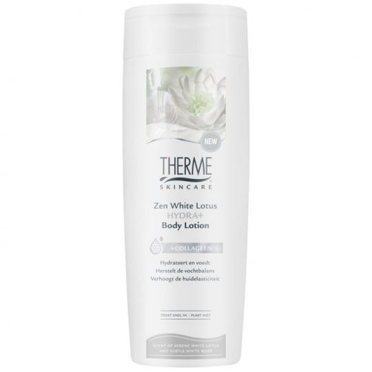 THERME ZEN WHITE LOTUS HYDRA+ KŪNO LOSJONAS, 250 ml