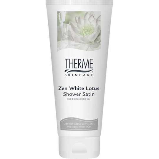 THERME ZEN WHITE LOTUS KŪNO PRAUSIKLIS, 200 ml