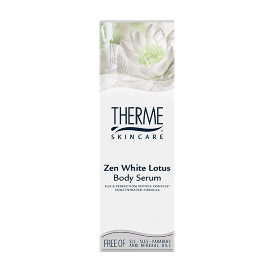 THERME ZEN WHITE LOTUS KŪNO SERUMAS, 125 ml