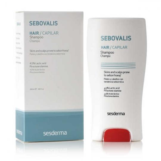 SESDERMA SEBOVALIS ŠAMPŪNAS, 200 ml