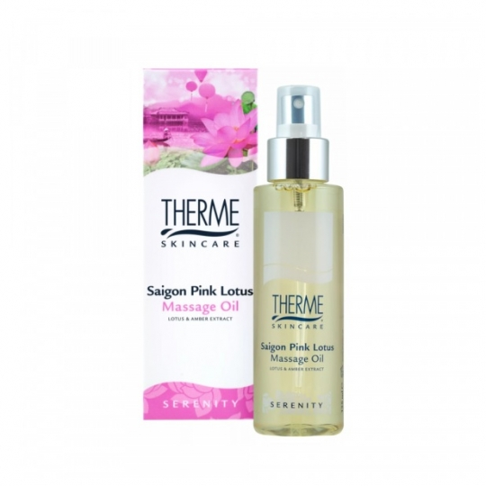 THERME SAIGON PINK LOTUS MASAŽO ALIEJUS, 125 ml